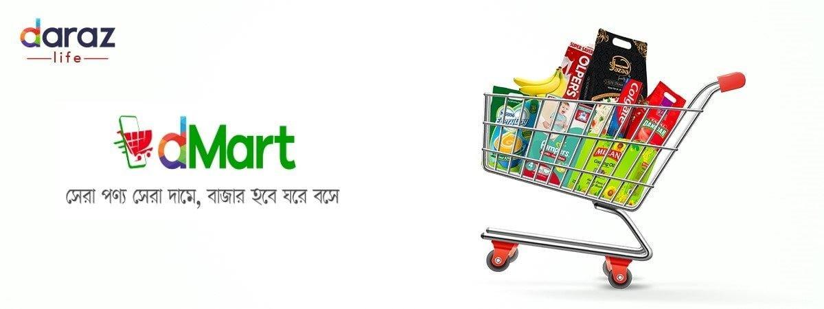 buy groceries from dMart