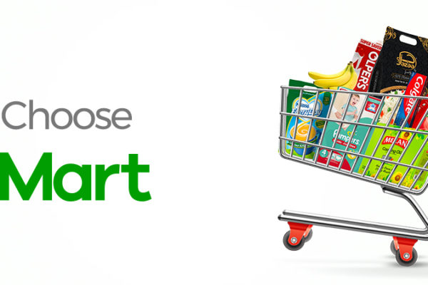 order groceries from dMart