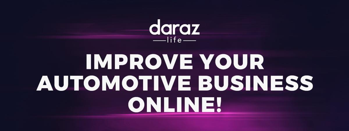 become an online automotive seller on daraz.com.bd