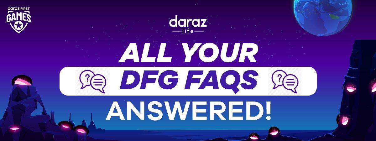 Daraz First Games FAQ