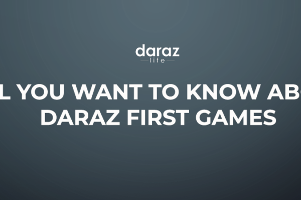 Daraz First Games Banner
