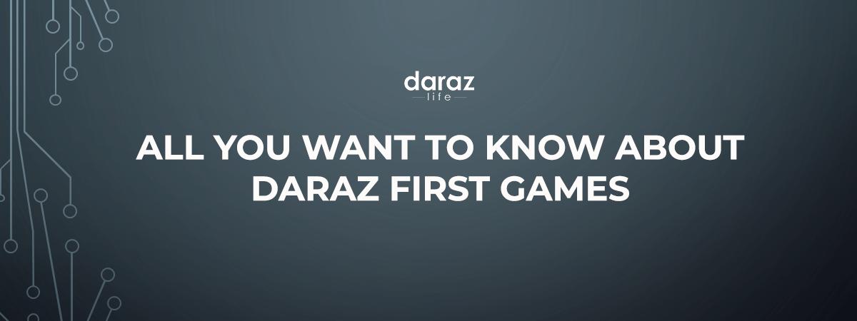 Daraz First Games Banner