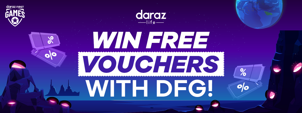 play daraz first games (dfg) and win vouchers