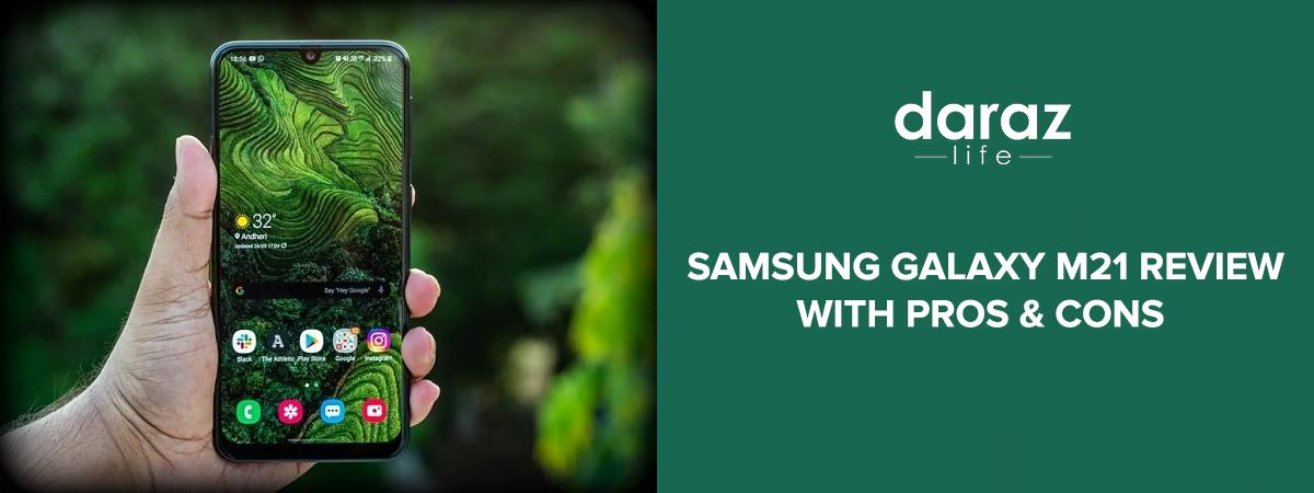Samsung Galaxy M21 Review-daraz.com.bd