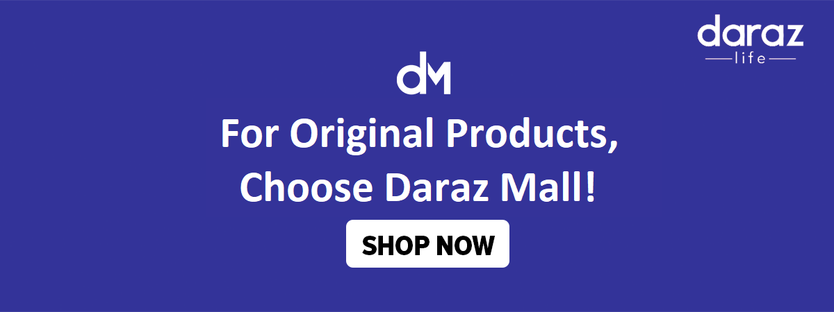 order authentic products from daraz mall