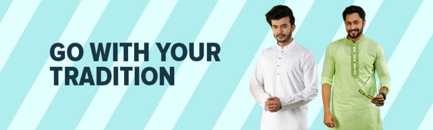 order panjabi from daraz eid big sale campaign