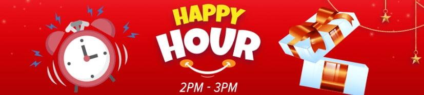 happy hour voucher of daraz mall