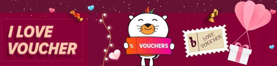 I Love Voucher for Eid Big Sale Campaign