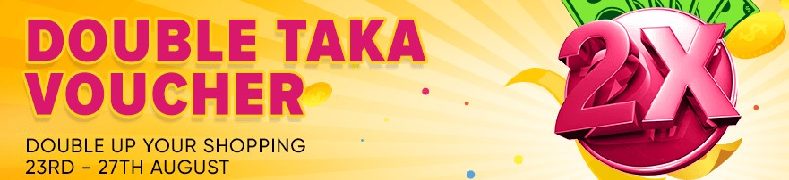 enjoy double taka vouchers from daraz 6th anniversary campaign