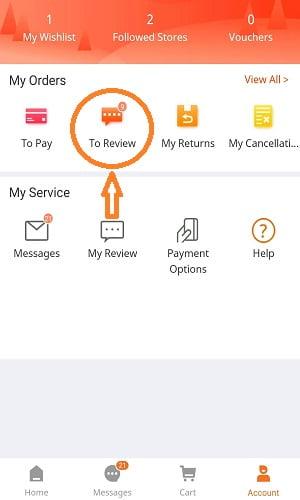make a valid review on daraz.com.bd