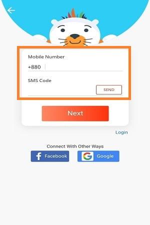 log in to daraz app easily
