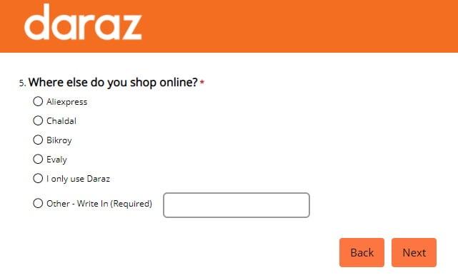NPS Quiz-daraz.com.bd
