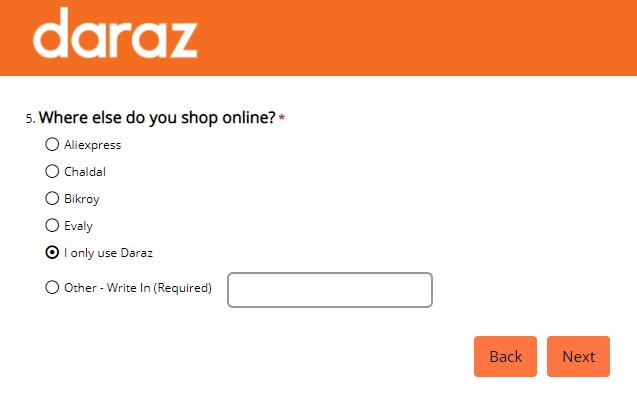 NPS Ques daraz.com.bd