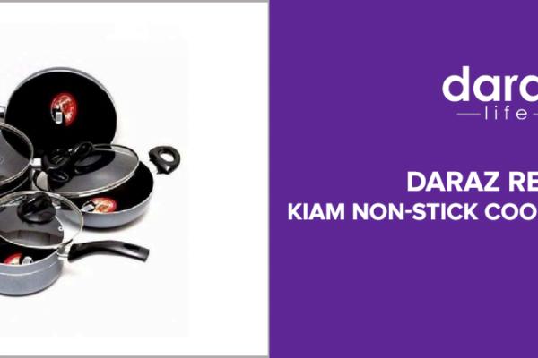 Kiam Non Stick Cookware 7pcs set Review