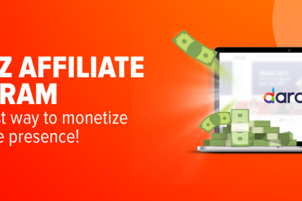 affiliate with daraz