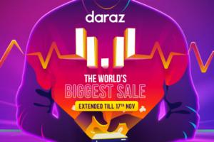 daraz 11.11 sale campaign