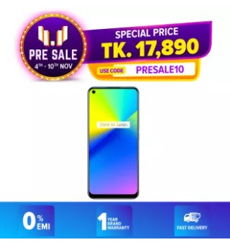 order realme 7i smartphone from daraz.com.bd