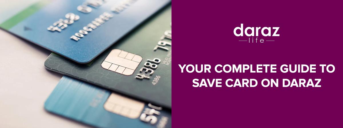 Save debit/credit card on daraz- daraz.com.bd