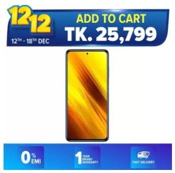 buy xiaomi poco x3 smartphone from daraz.com.bd