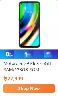 buy motorola g9 plus mobile from daraz.com.bd