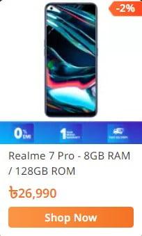 order realme 7 pro smartphone from daraz.com.bd