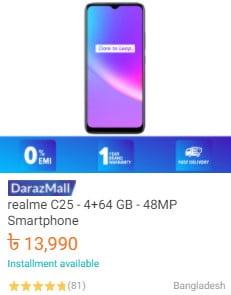 buy realme c25 mobile from daraz.com.bd