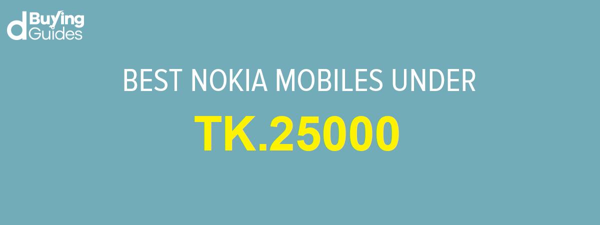 best nokia mobile under bdt 25,000