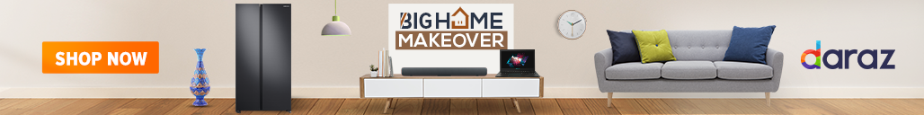 shop furniture and appliances from daraz big home makeover campaign