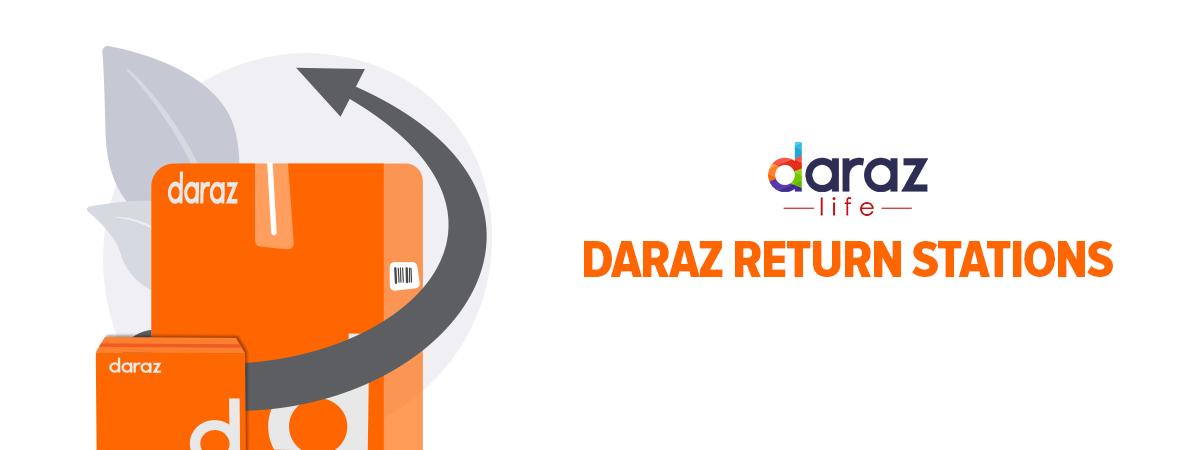 daraz return stations list