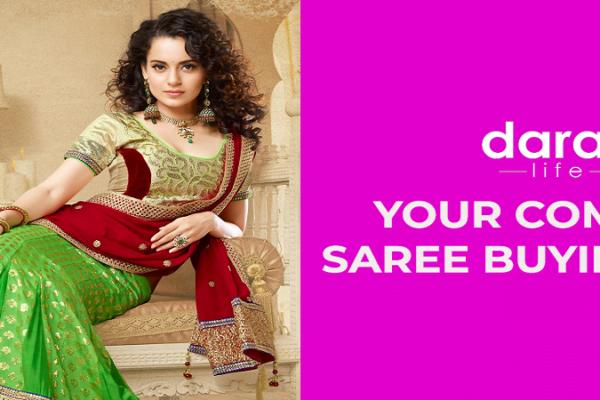 new saree design at daraz bd