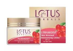 lotus moisturising cream