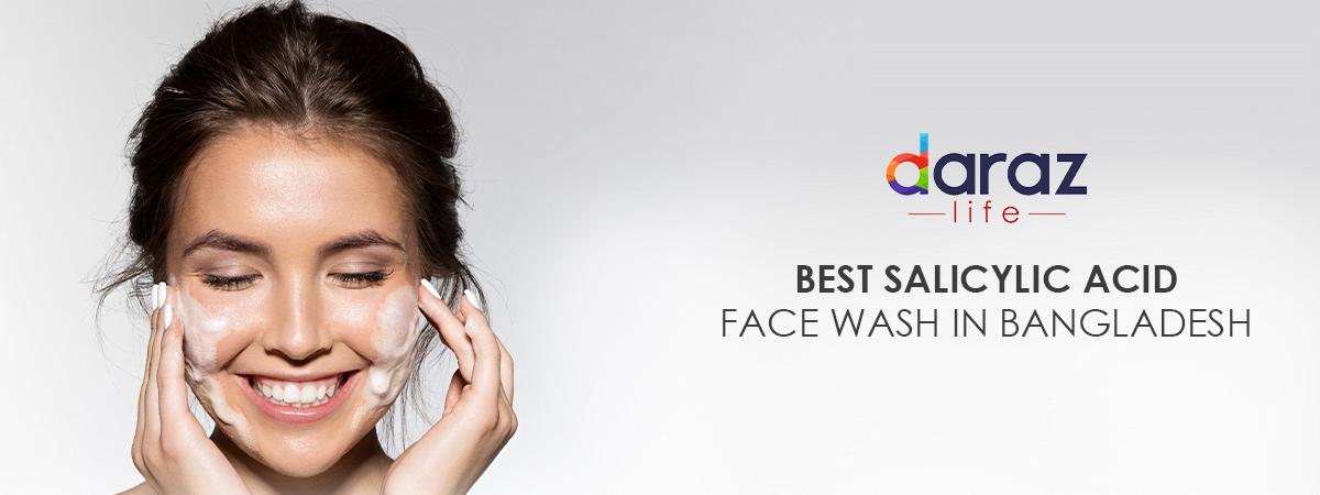 best salicylic acid face wash in bangladesh banner