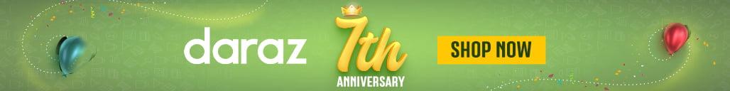 daraz 7th anniversary sale campaign