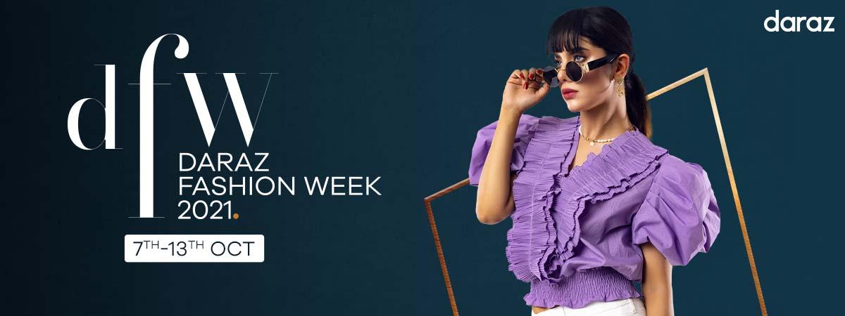 shop fashion products from daraz fashion week campaign