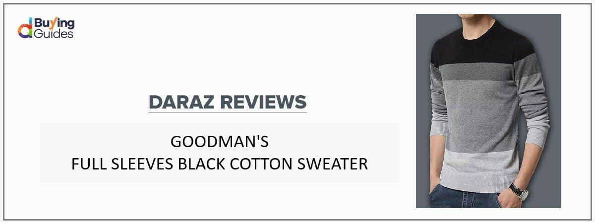Goodman Long Sleeves Sweater price