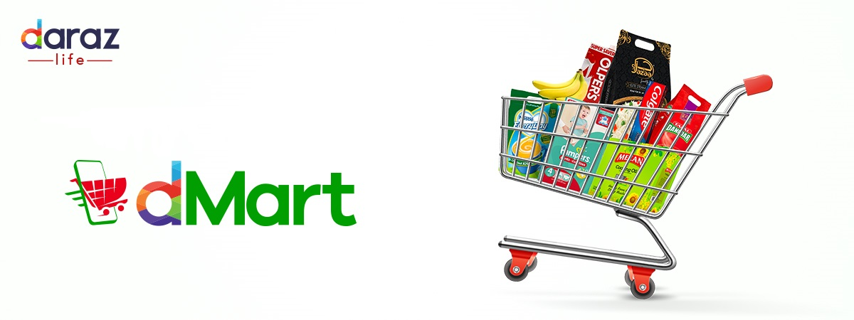 buy groceries on dmart