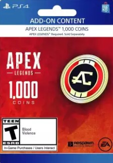 Buy Apex 1000 Coins for PS4 from daraz.com.bd