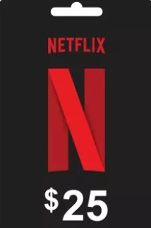 Netflix Gift Card with Digital Code