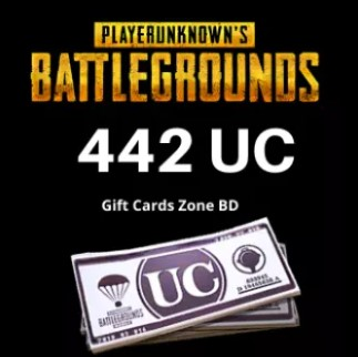 Buy PUBG 442 UC from daraz,com,bd
