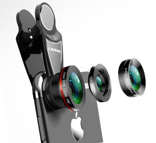 Mobile camera lenses